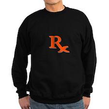 Pharmacy Rx Symbol Sweatshirt