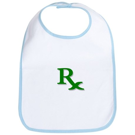 Pharmacy Rx Symbol Bib