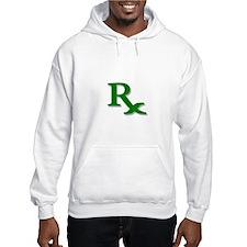 Pharmacy Rx Symbol Hoodie