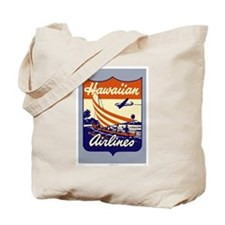 Retro Hawaiian Air Tote Bag