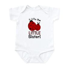 I'm The LITTLE Sister! Ladybu Infant Bodysuit