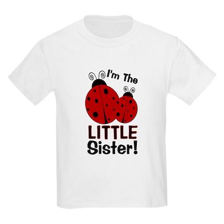 I'm The LITTLE Sister! Ladybu Kids Light T-Shirt