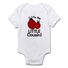 I'm The LITTLE Cousin! Ladybu Infant Bodysuit