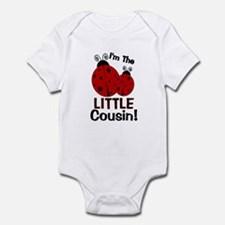 I'm The LITTLE Cousin! Ladybu Infant Bodysuit