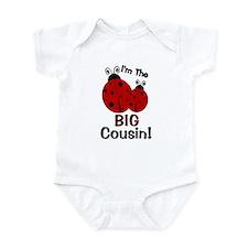 I'm The BIG Cousin! Ladybug Infant Bodysuit