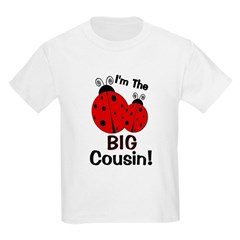 I'm The BIG Cousin! Ladybug T-Shirt