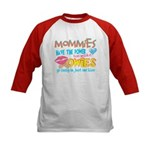 Just One Kiss Kids Baseball Jersey