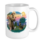 St Francis #2 / Rottweiler Large Mug