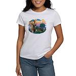 St Francis #2 / Rottweiler Women's T-Shirt