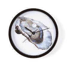 Louisiana Oysters Wall Clock
