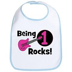 Being 1 Rocks! Guitar Bib