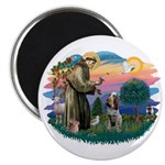 St Francis #2/ Spinone Magnet