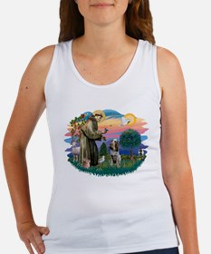 St Francis #2/ Spinone Women's Tank Top