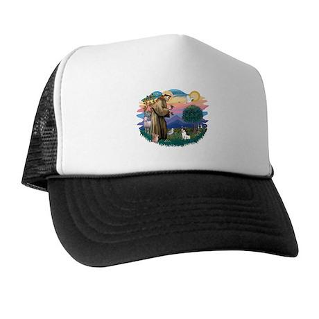 St. Francis #2 / Rat Terrier Trucker Hat