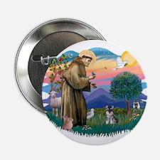 "St Francis #2 /Schnauzer (min) 2.25"" Button"
