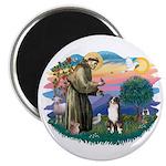 St Francis #2/ Aus Shep (tri) Magnet