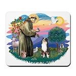 St Francis #2/ Aus Shep (tri) Mousepad