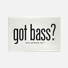 got bass? Rectangle Magnet