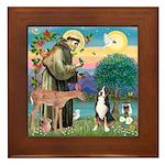 St. Francis / Greater Swiss MD Framed Tile