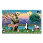 St. Francis / Greater Swiss MD Sticker (Rectangle