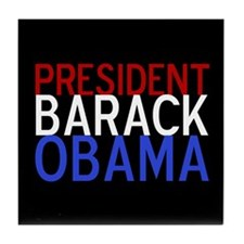President Obama Tile Coaster