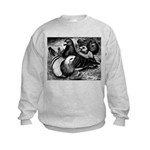 Giant Homer Pigeons Kids Sweatshirt