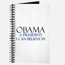 Believe in Obama Journal