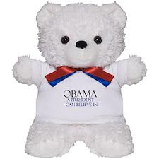 Believe in Obama Teddy Bear