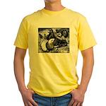 Giant Homer Pigeons Yellow T-Shirt