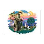 St. Francis #2 / Italian Greyhound Mini Poster Pri