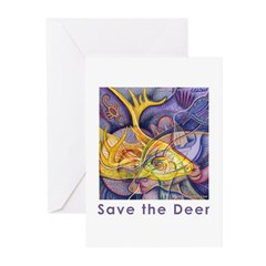 Save the Deer Greeting Cards (Pk of 10)