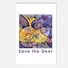 Save the Deer Postcards (Package of 8)