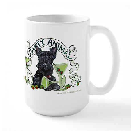 Scottish Terrier Martinis Large Mug