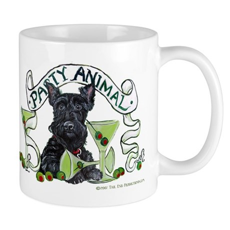 Scottish Terrier Martinis Mug