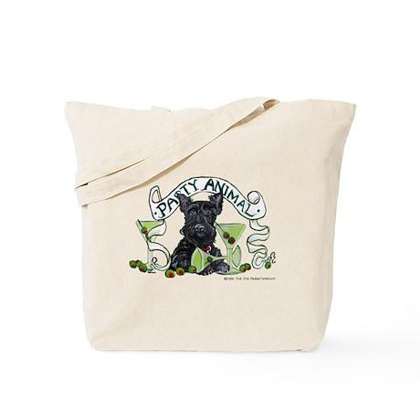 Scottish Terrier Martinis Tote Bag