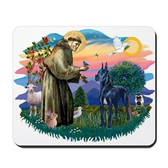 St. Fran #2/ Blue Great Dane Mousepad