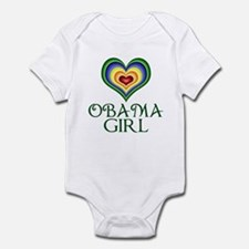 Obama Girl Infant Bodysuit