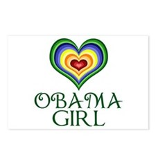 Obama Girl Postcards (Package of 8)