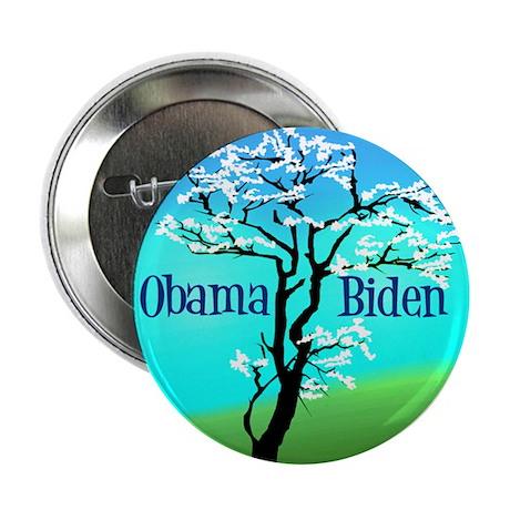 """Beautiful Obama 2.25"""" Button"""