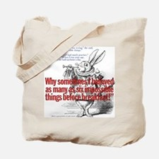 Impossible Things Tote Bag