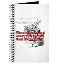 Impossible Things Journal