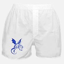 Jabberwocky Blue Boxer Shorts