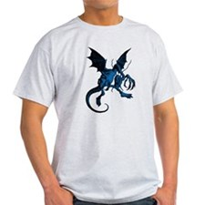 Jabberwocky Blue Fill T-Shirt