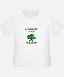 Garbage Truck Shirt For Toddlers T-Shirt