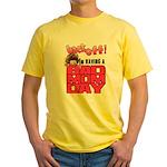 Bad Mom Day Yellow T-Shirt
