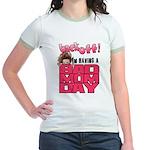 Bad Mom Day Jr. Ringer T-Shirt
