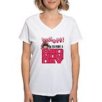 Bad Mom Day Women's V-Neck T-Shirt