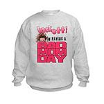 Bad Mom Day Kids Sweatshirt