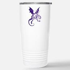 Jabberwocky Purple Stainless Steel Travel Mug