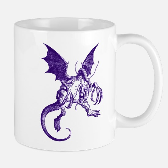 Jabberwocky Purple Mug